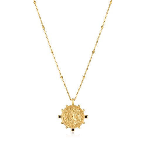 SS/GP Coin Necklace