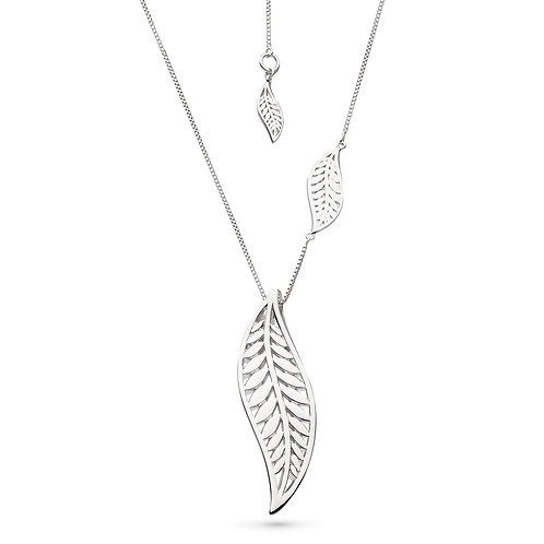 SS Large Eden Leaf Necklace