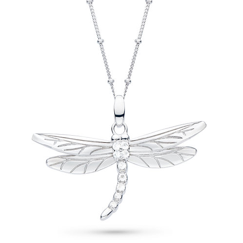 SS Dragonfly Pendant