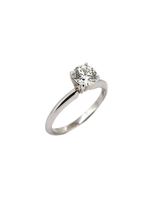 Estate 14KW Solitaire Engagement Ring