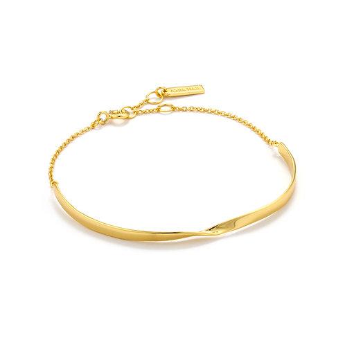 SS/GP Twist Bracelet