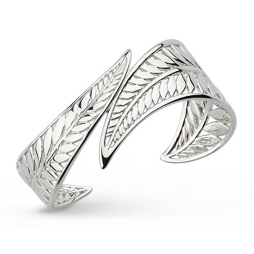 SS Eden Wrapped Leaf Cuff