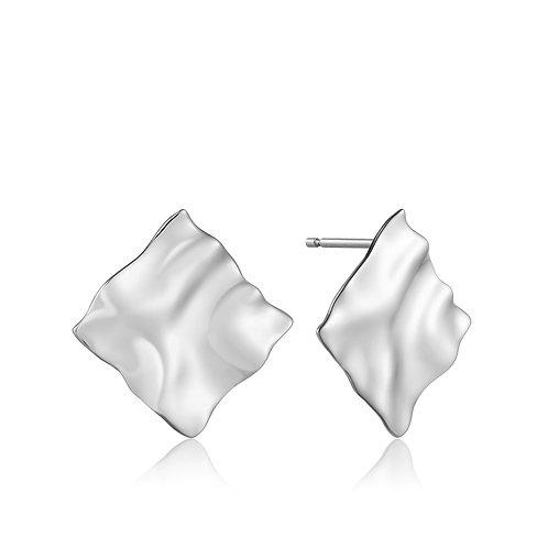 SS Crush Square Stud Earring