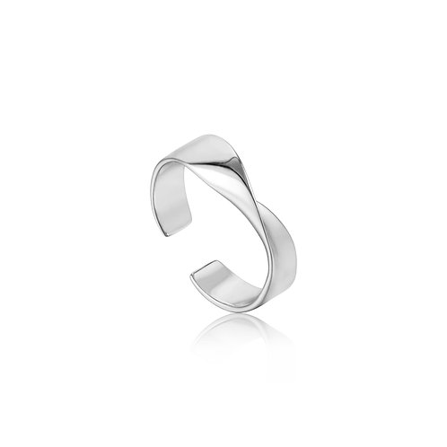 SS Helix Adjustable Ring