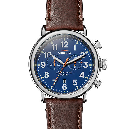 The Runwell Chrono 47 MM in Brown