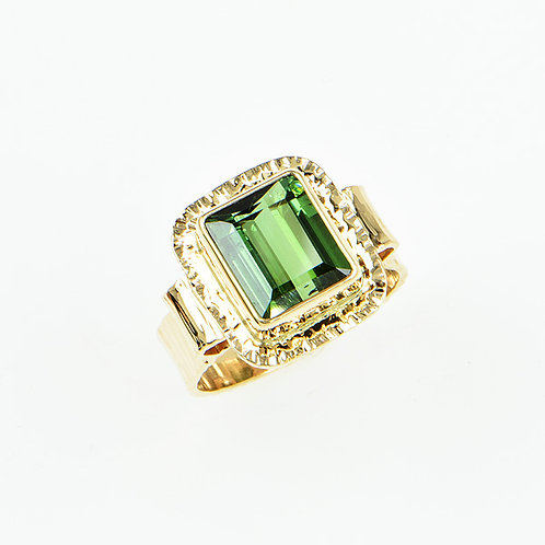 14KY Green Tourmaline