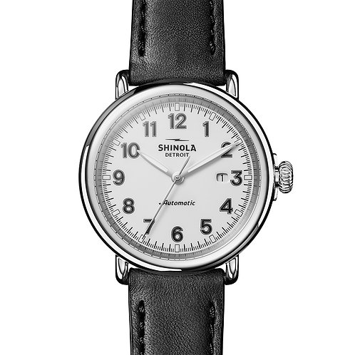 The Runwell Automatic 45mm in Black