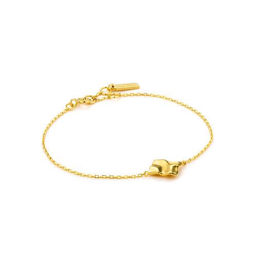 SS/GP Crush Square Bracelet