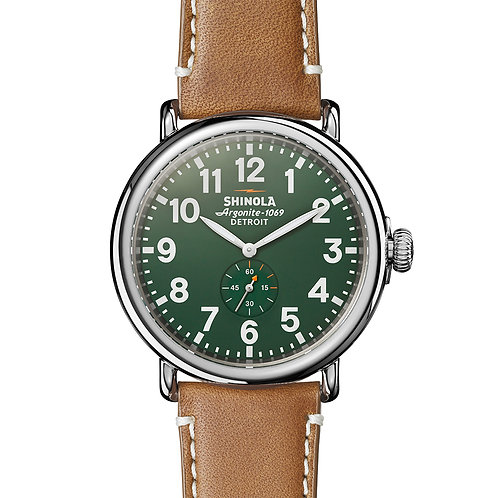The Runwell 47mm in Brown