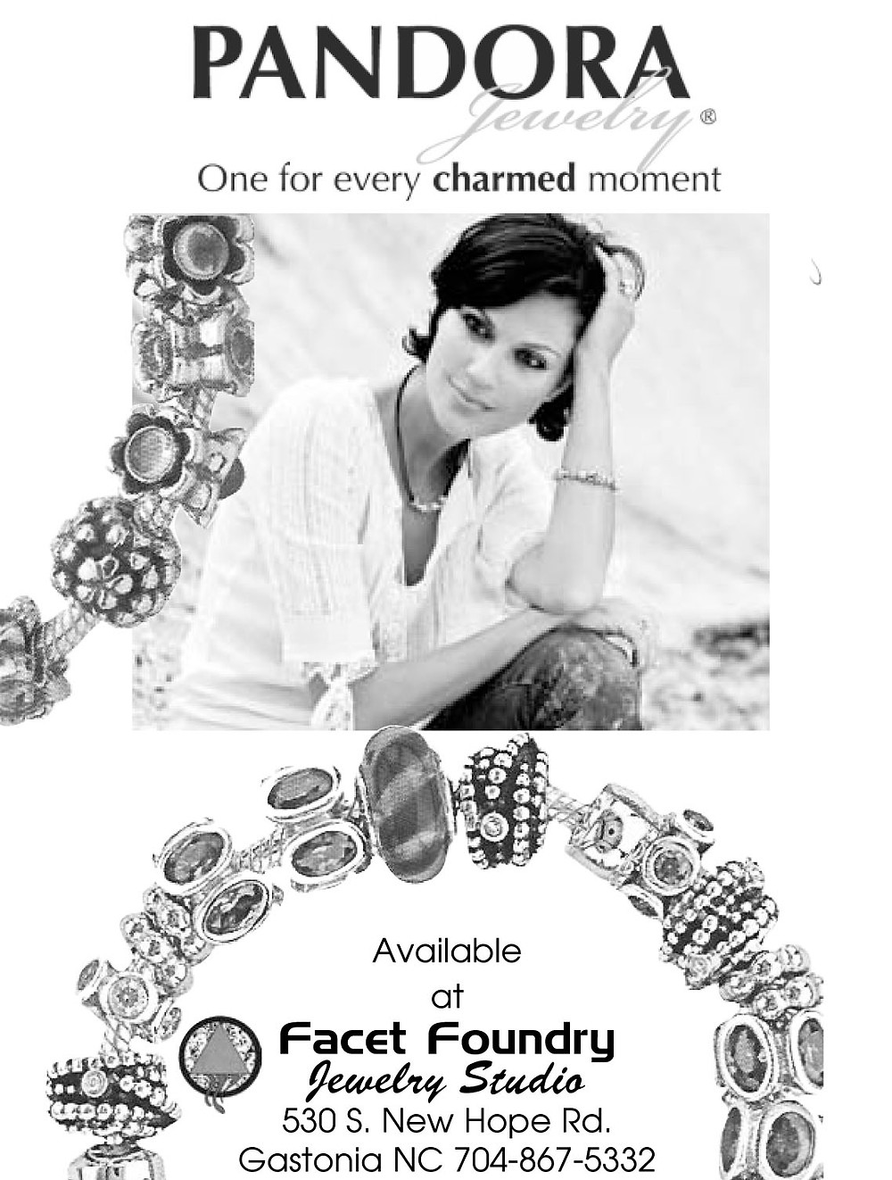 2006 Pandora Newspaper Ad