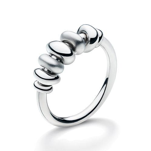 SS Sandblasted Bead Ring