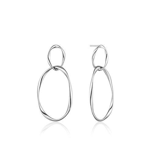 SS Swirl Nexus Earrings