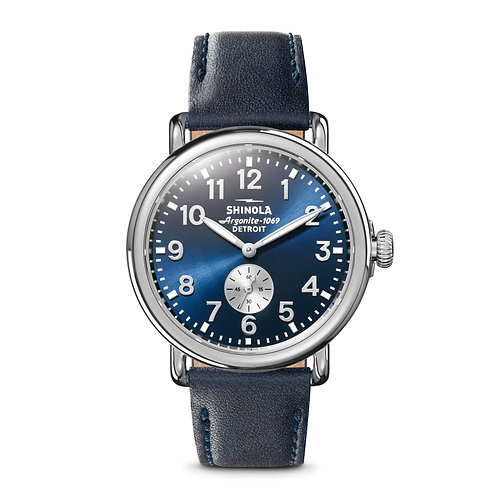 The Runwell 41mm in Midnight Blue