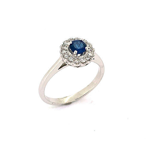 10KW Sapphire Ring