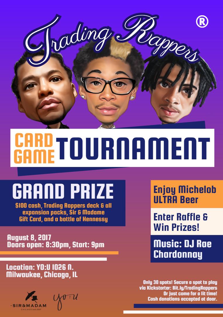 YO_U Tournament Print and Digital Poster