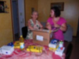consegna cibo famiglia