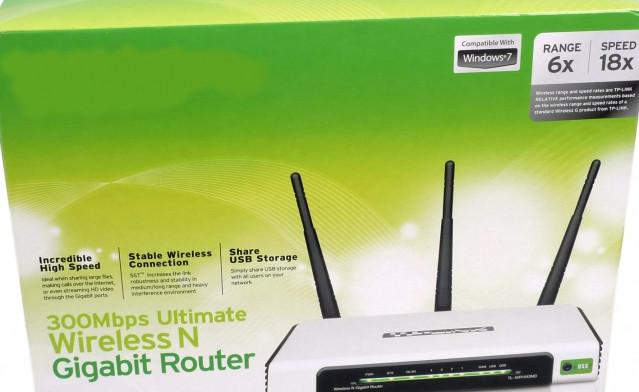 Рисунок 1 – Коробка типичного Wi-Fi роутера, обещающего 300 Мбит