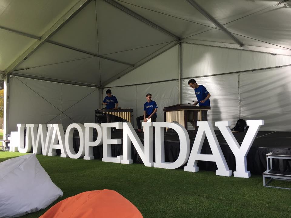 UWA Open Day 2017