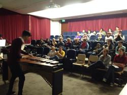 Presenting 'Macro Kinetics' workshop