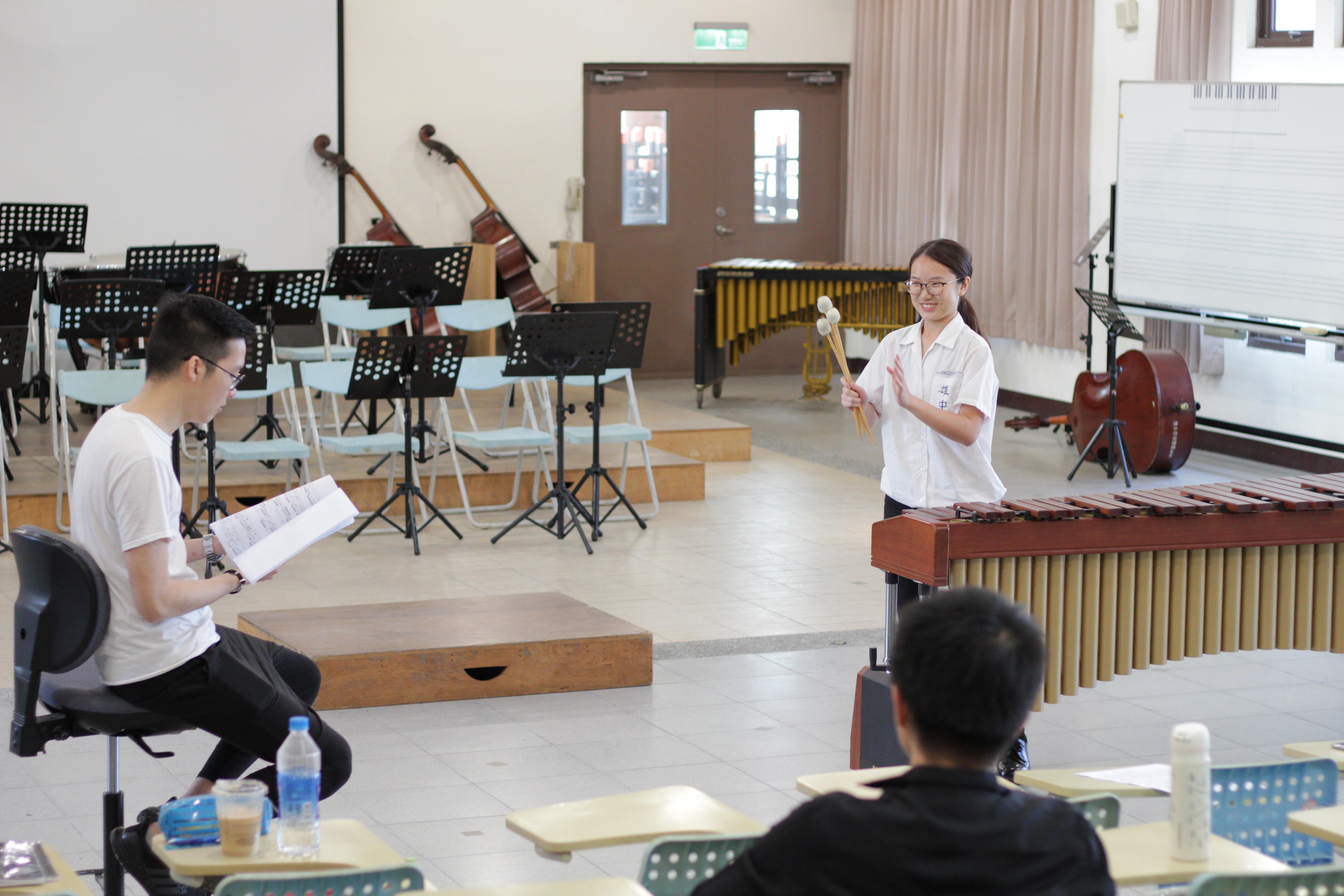 Masterclass at KSHS (Taiwan)