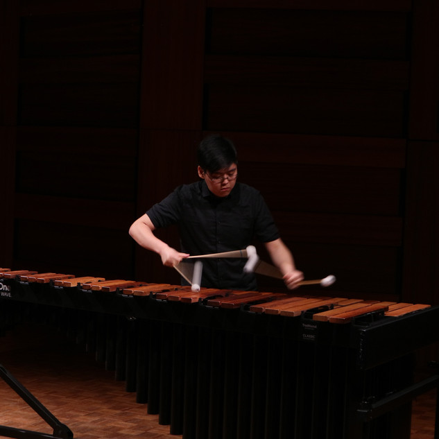 Austin Choi performing in the Competition