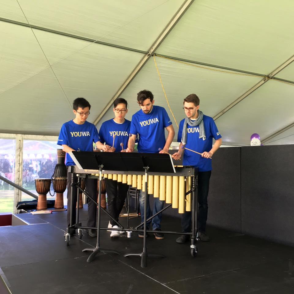 Piñata Percussion at UWA Open Day