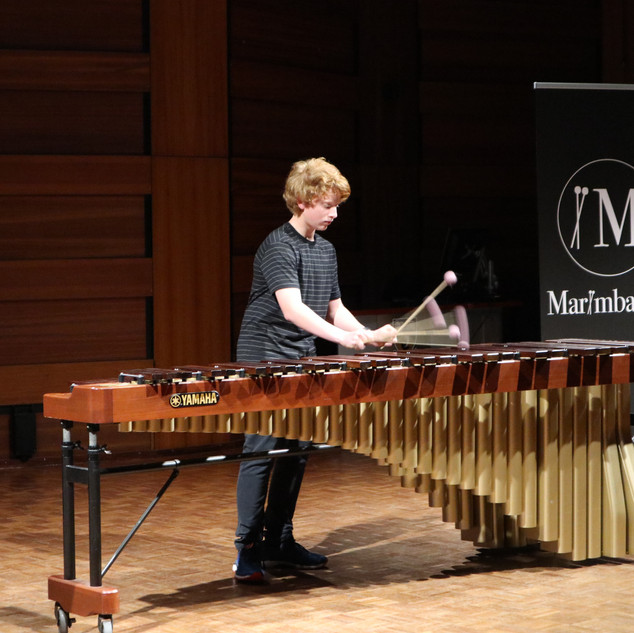 Ben Cromie performing in the Competition