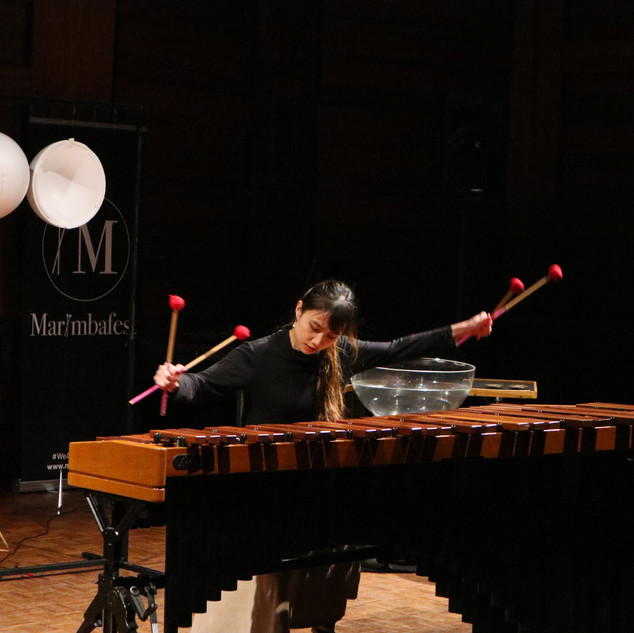 Therese Ng performing Rhapsody in Blue in the competition concert