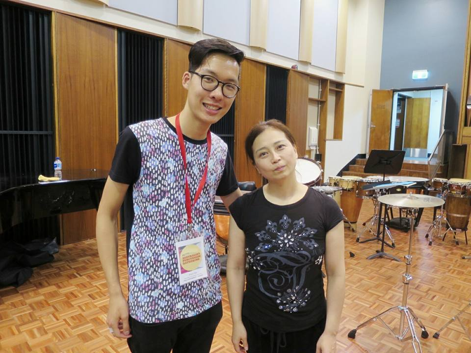 Working with Kuniko Kato
