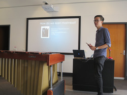 Presenting 'Macro-Kinetics' talk