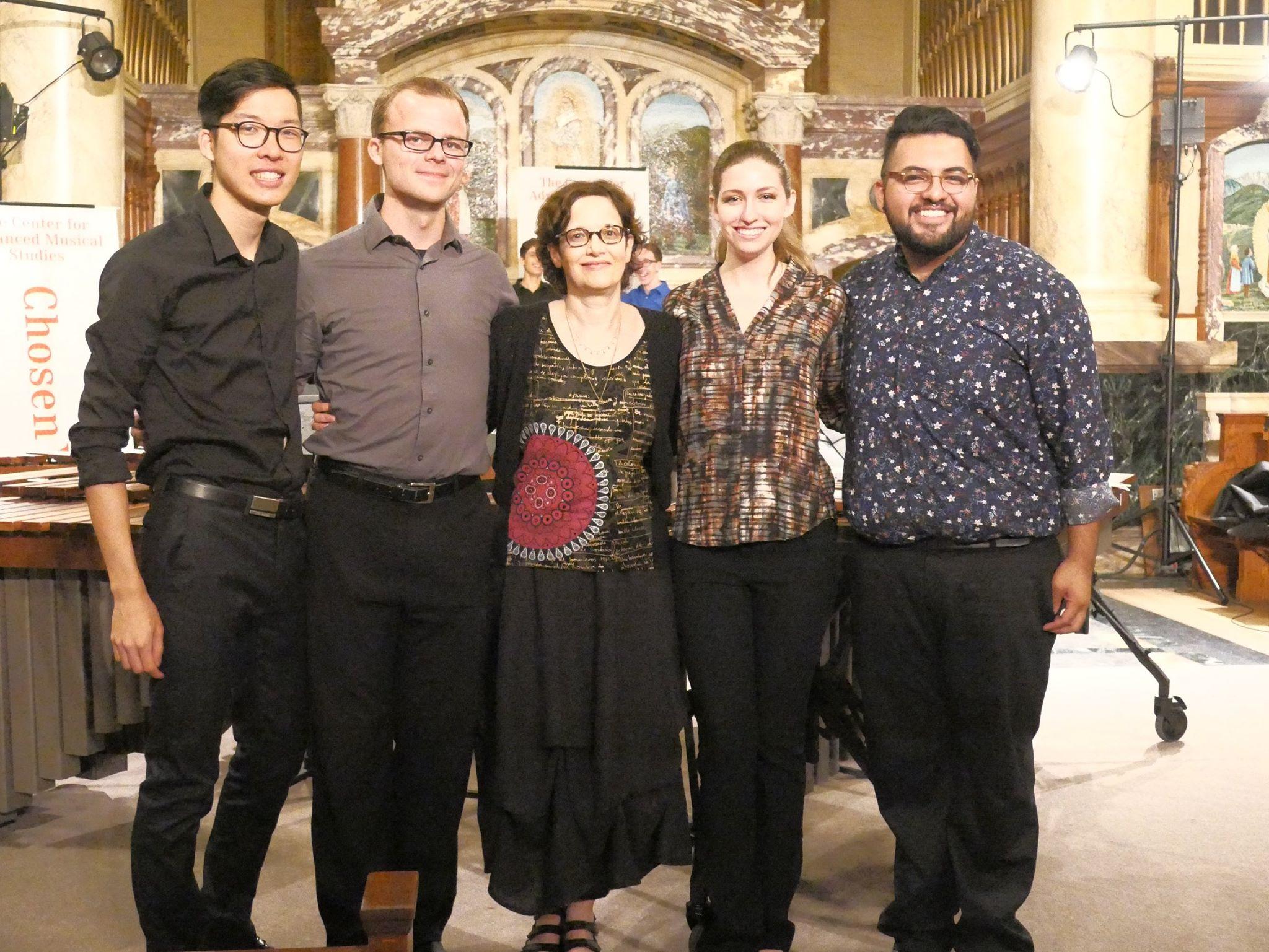 Performing Levitan's Marimba Quartet
