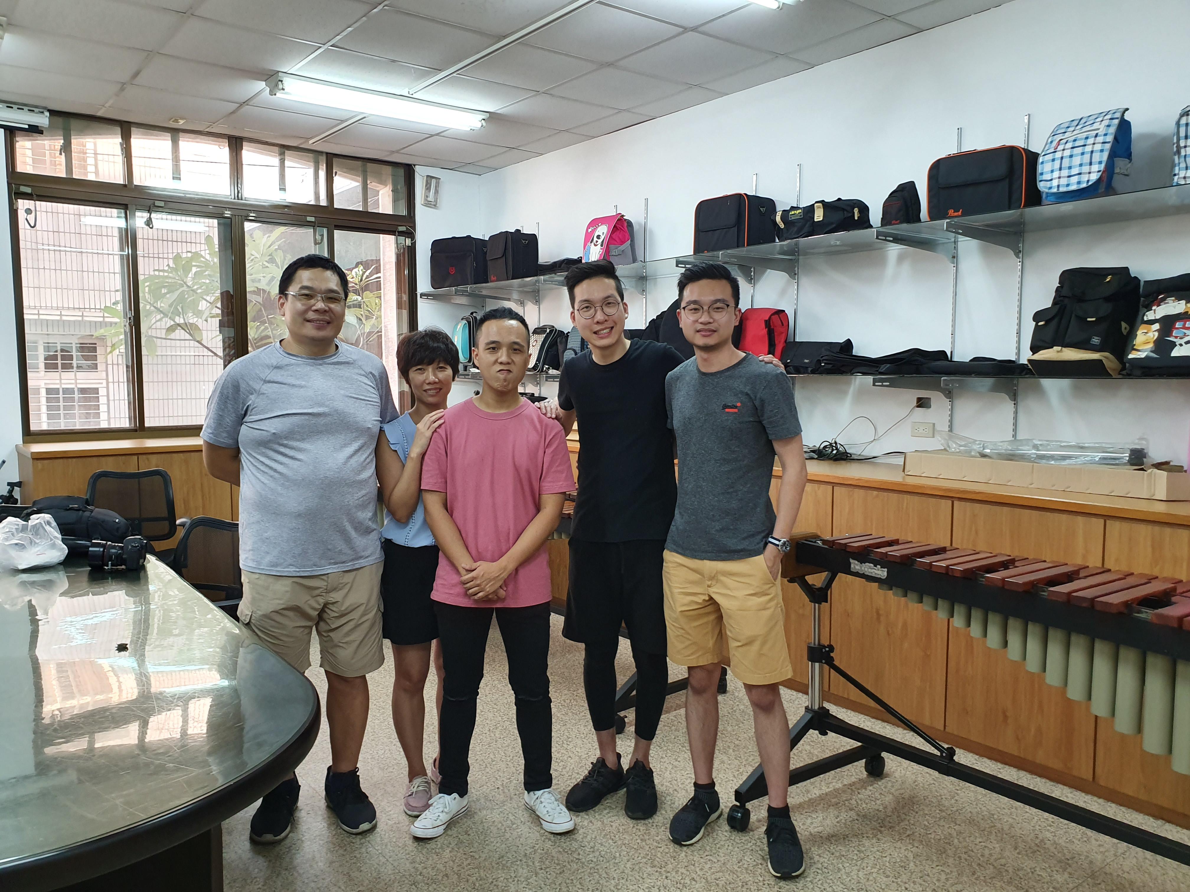 Visiting Buffalo Percussion (Taiwan)