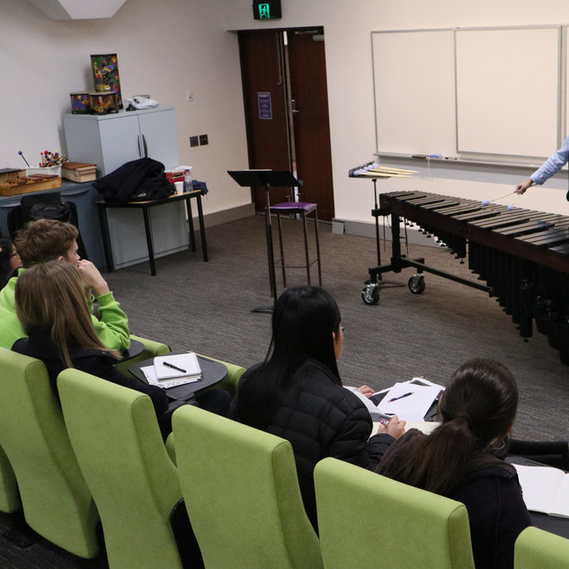 Wei-Chen's marimba technique masterclass
