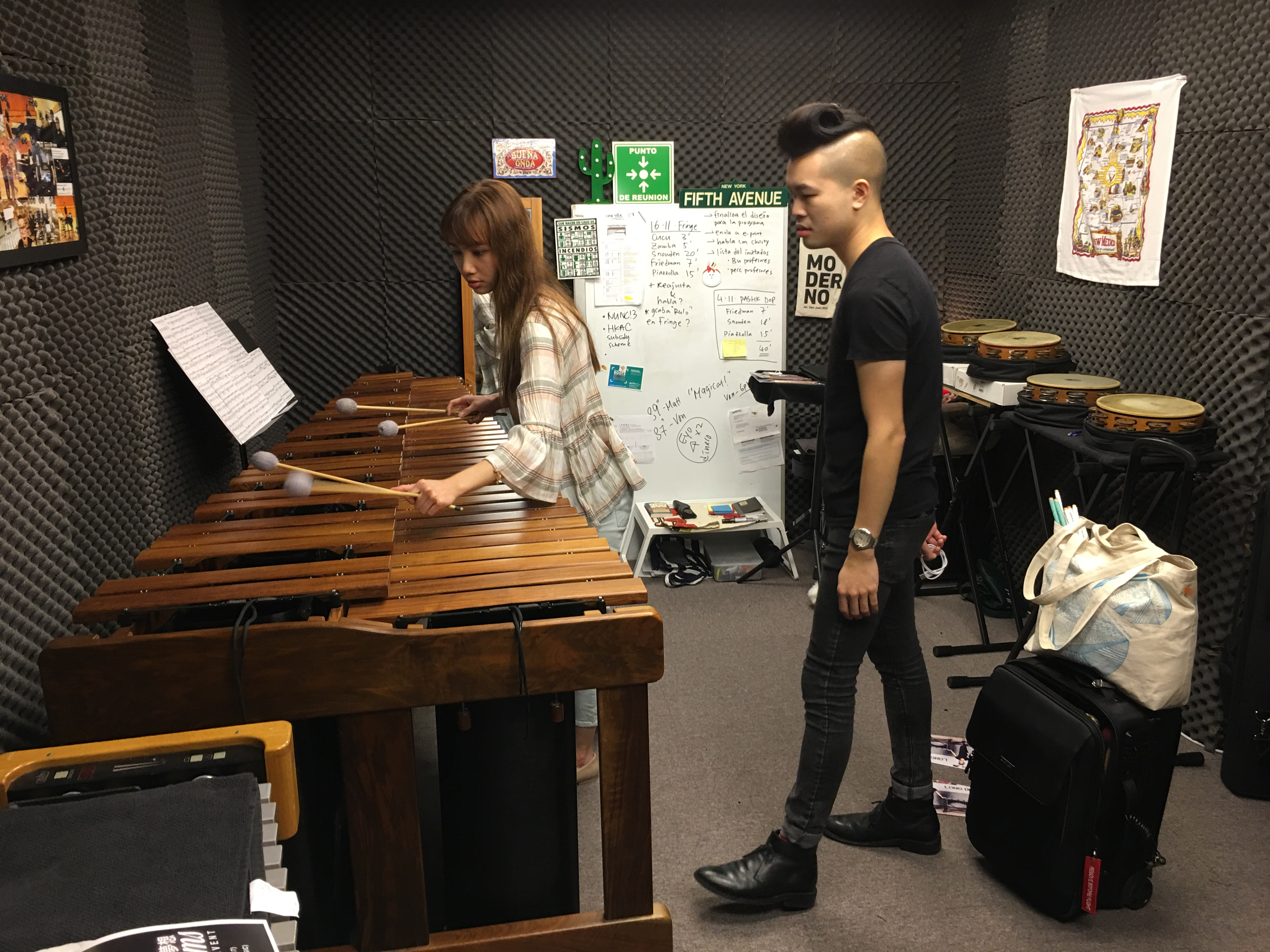 Matthew Lau's studio