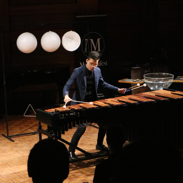 Adam Tan performing Moon in the competition concert