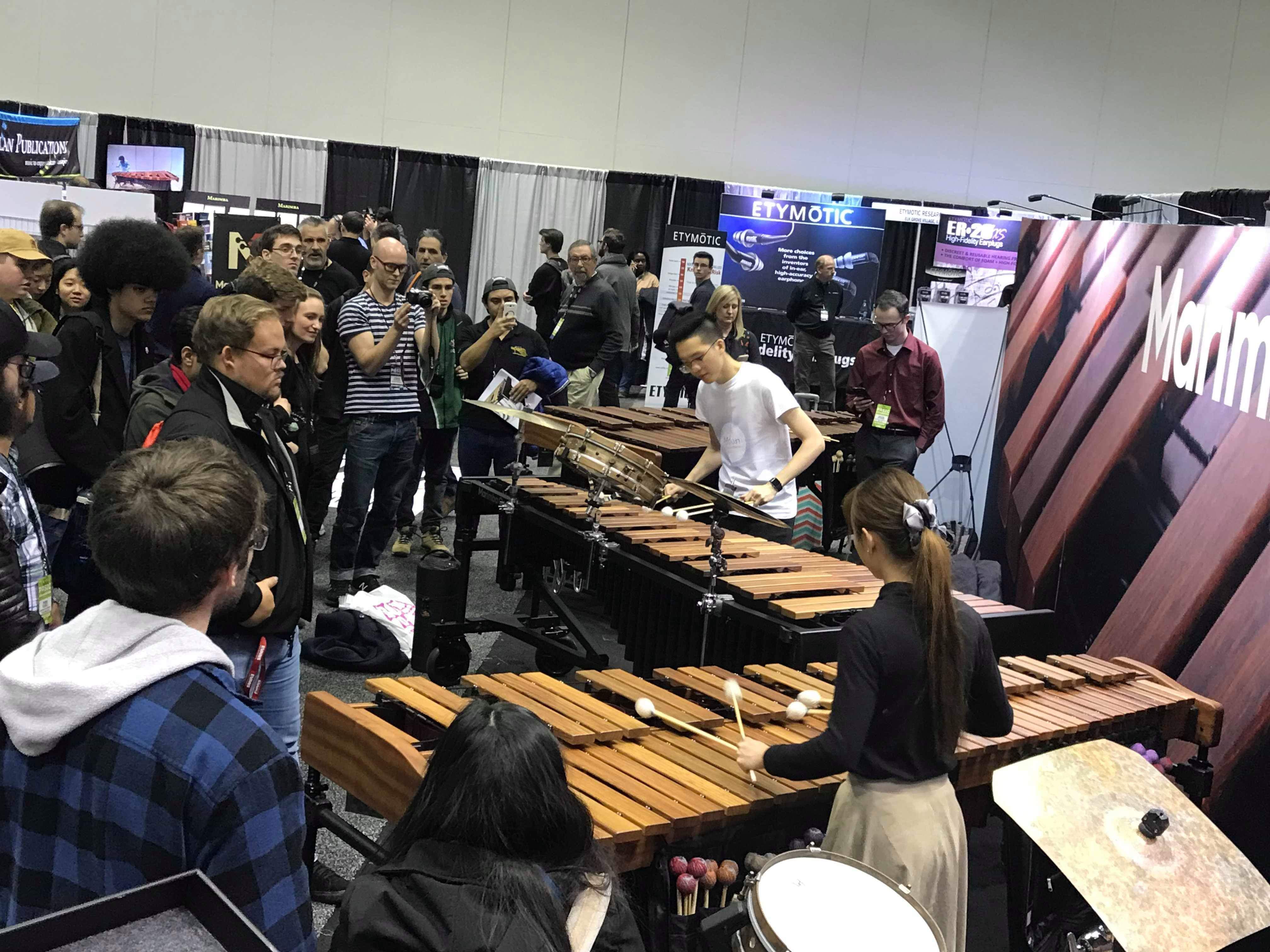 Marimba One Performance PASIC 2018