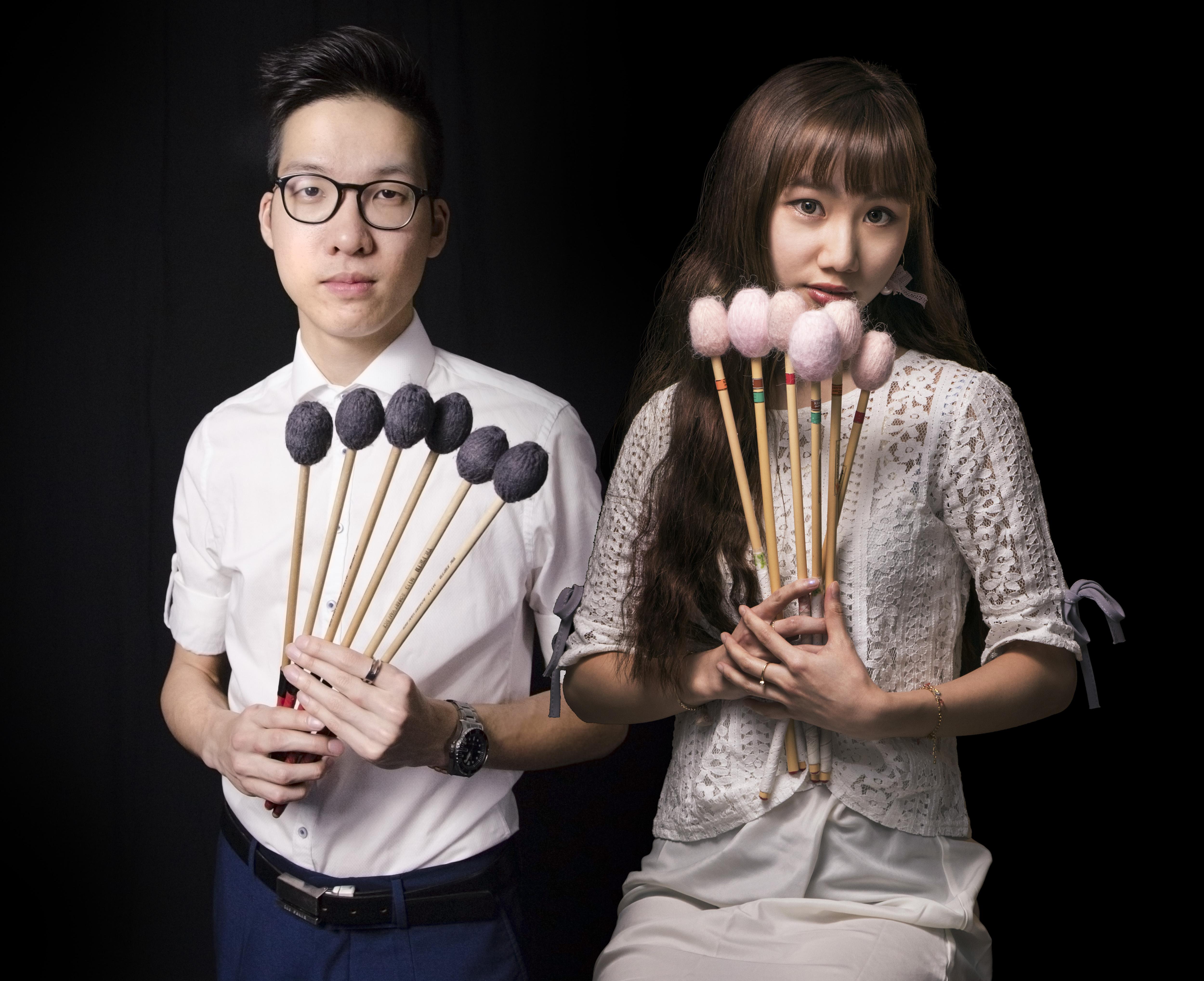 Introducing our new marimba duo