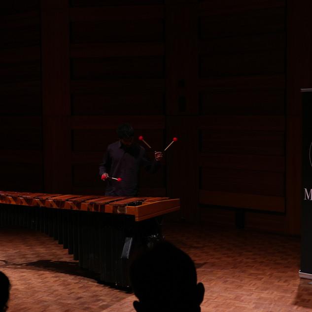 Pavan Hari performing in the Competition