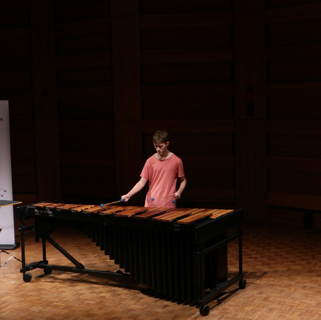 Tim Pye performing in the Competition