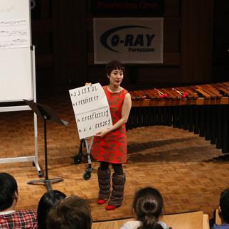Kana Omori's memorisation workshop