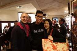 Pius Cheung and Eriko Daimo
