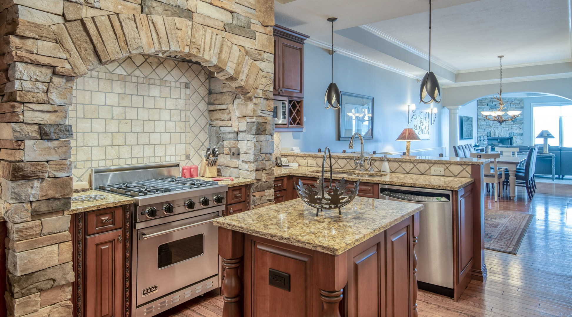 Professionally-Equipped Kitchen