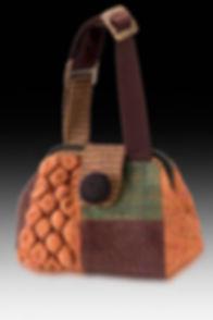 designer bag,fiber art