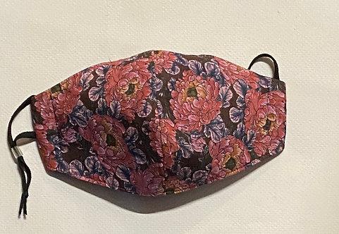 liberty floral face mask 2