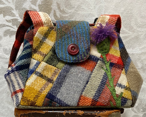 all wool blanket bag