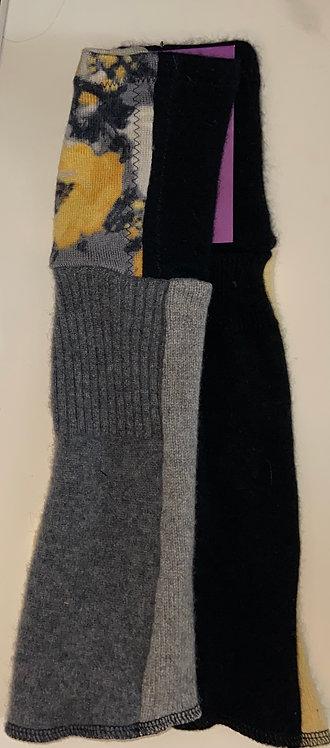 Bird nest cashmere gloves II