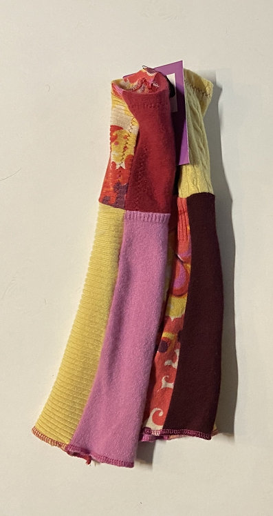 pretty darn happy colors fingerless gloves (cashmere)