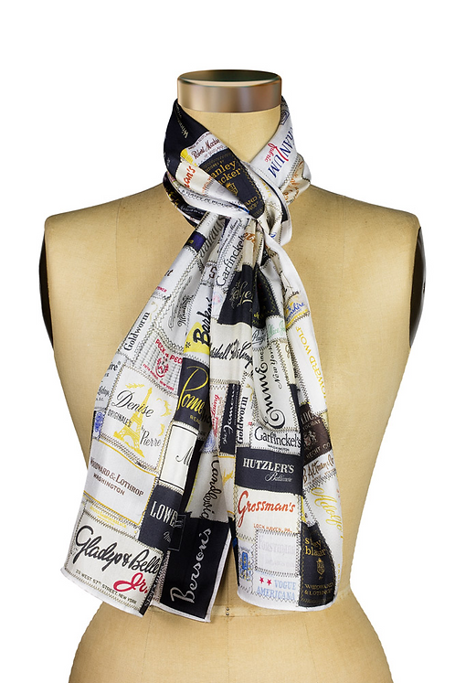 the f street scarf