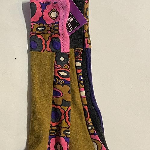 goldworm cashmere fingeless gloves