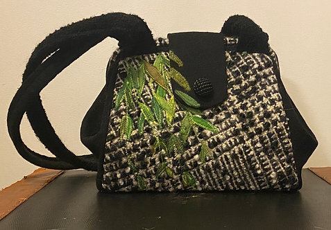 weeping willow 2020 nubby dot bag